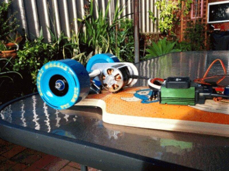 Elektro Skateboard selbser bauen