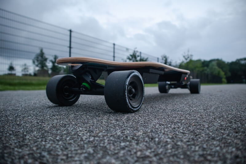 Elektro Skateboard Test