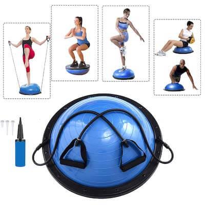Balance Ball Vorteile Nachteile Übungen
